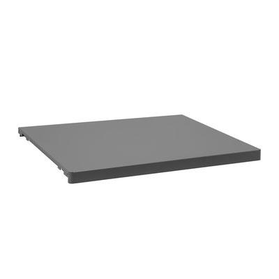 Metallboden als Arbeitsplatte 60 x 50 cm