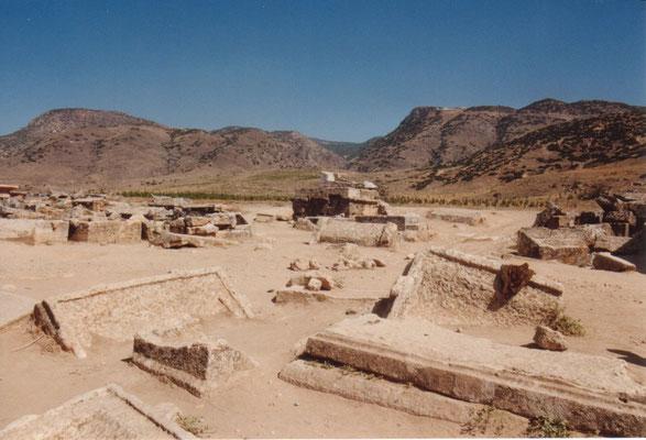 Nekropolis bei Pamukale
