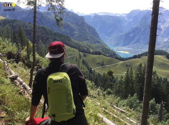 Auch Wandern in der Natur stets mit seimoH Cap