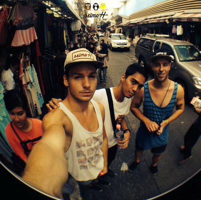 Selfie mit seimoH auf Reisen