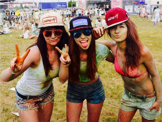 Festival und Spaß mit den Mädels und seimoH Snapback