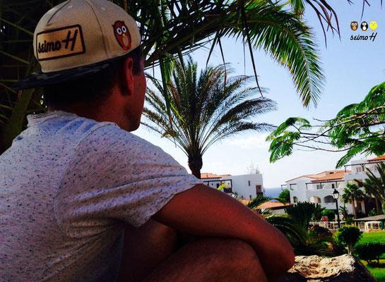 Chillen am Strand mit Snapback von seimoH