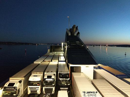DFDS Fähre Kiel - Klaipeda