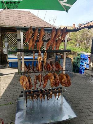 Fischrestaurant in Nida