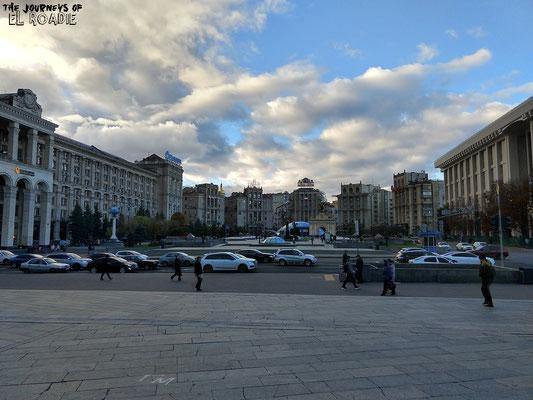 Nordteil des Majdan Platzes