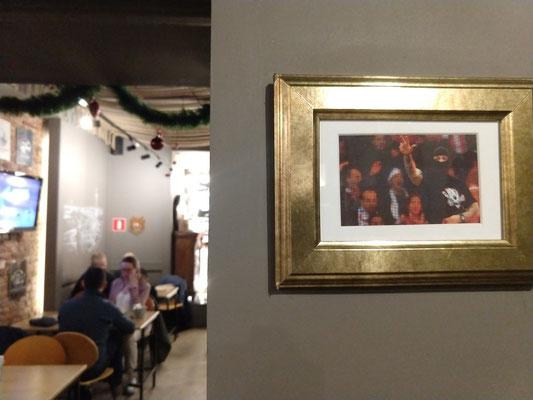 Serbischer Hool in serbischen Restaurant. Ivan der Schreckliche