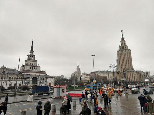 Komsomol'skaya Platz