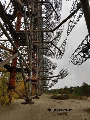 Duga - 1 Radaranlage