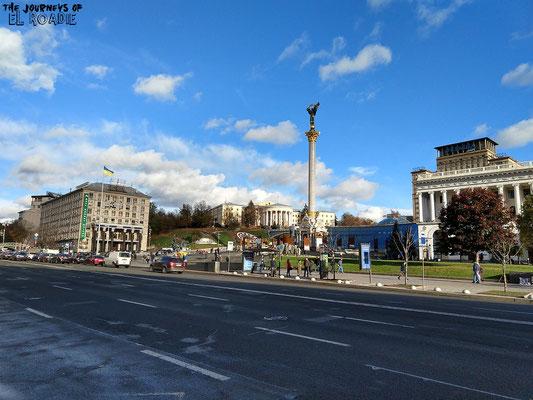 Südteil des Majdan Platzes