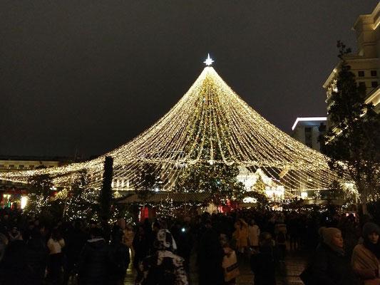 Weihnachtsmarkt Tverskaya Straße