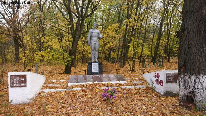 Ein Denkmal für den sowjetischen Widerstand im zweiten Weltkrieg