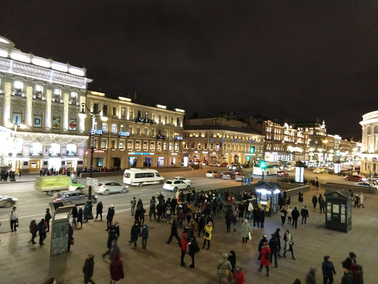 Sankt Petersburg - Nevsky Prospekt
