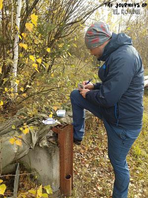 Geocaches gibts auch in Tschernobyl