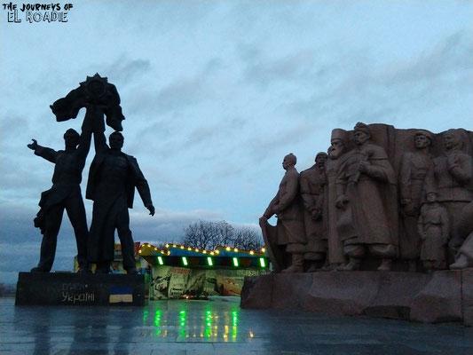 Denkmal für Völkerfreundschaft