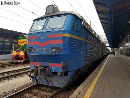 Ankunft Kiew Hauptbahnhof