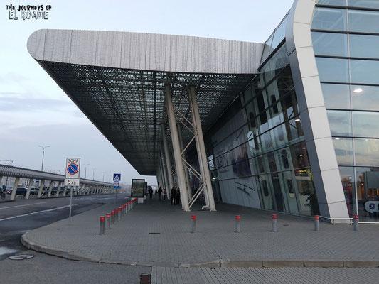 Terminal des neuen Flughafens