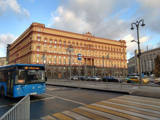 Ehemals Hauptquartier KGB, jetzt FSB