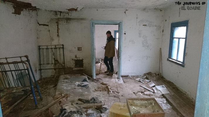 Die Häuser sind den Wertstoffdieben zum Opfer gefallen