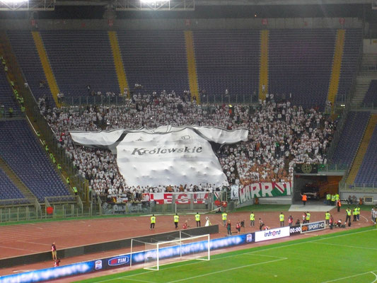 Legia Gästeblock