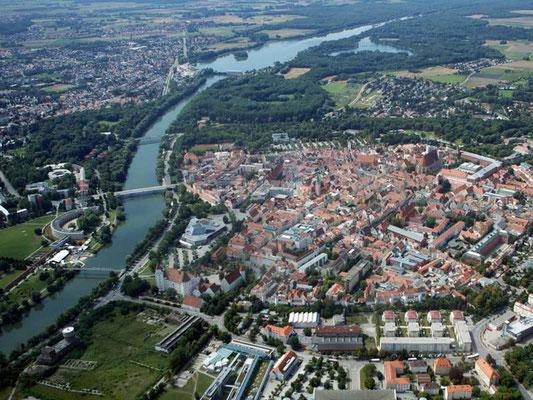 Ingolstadt Blick von Osten, Quelle: Bayern online
