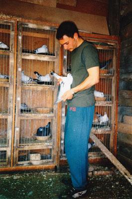 Ich und meine Tauben 1997 (Me and my pigeons in1997)