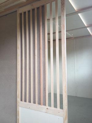 Schiebetüren zwischen den Schlägen (sliding doors)