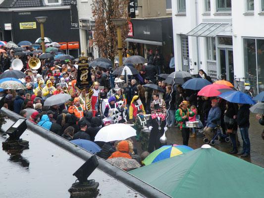 Carnavalsoptocht Dorpsstraat