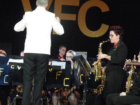 A-orkest met solo van Iris Veldkamp