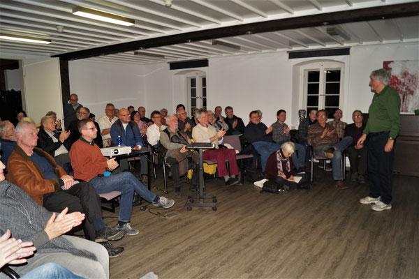 hochinteressiertes Publikum (Foto: CM)