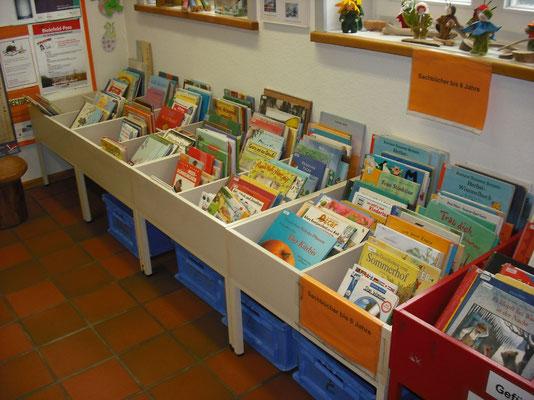 Bilderbücher in der Kinderbibliothek