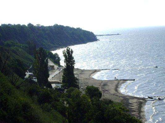 таганрог,  центральный пляж