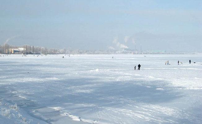 Таганрогский залив зимой