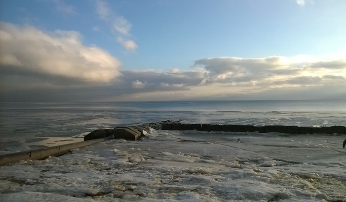 Таганрог море замерзло