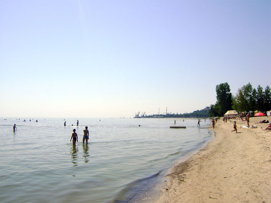 Елисеевский пляж, Таганрог фото