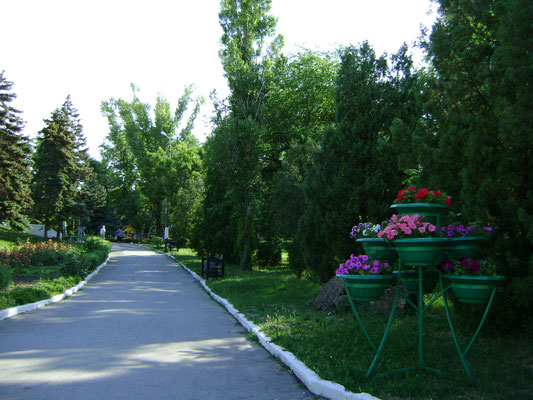 Приморский парк Таганрог