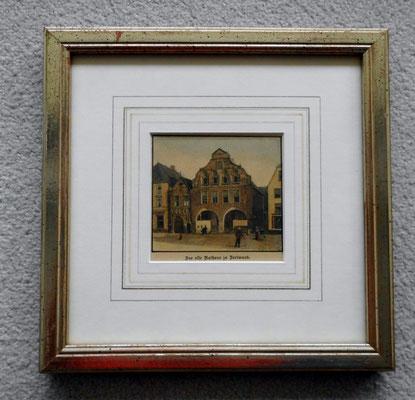 Holzstich um 1890, handcoloriert