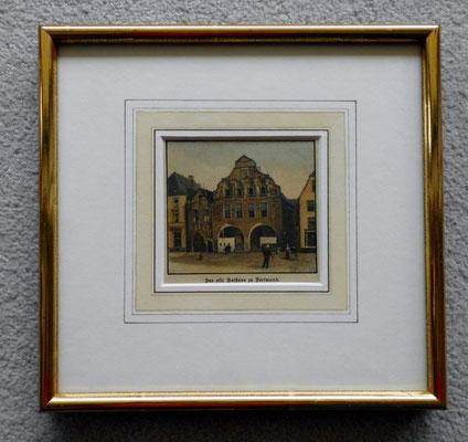 Holztich von 1898, handcoloriert