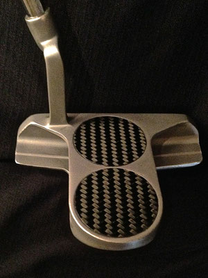 White Hot 2-ball Blade with carbon fiber discs