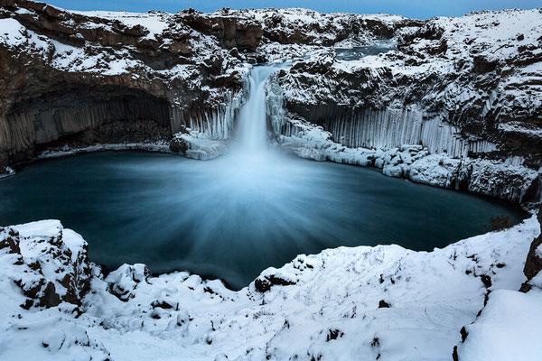 Island - Aldeyarfoss - 2019