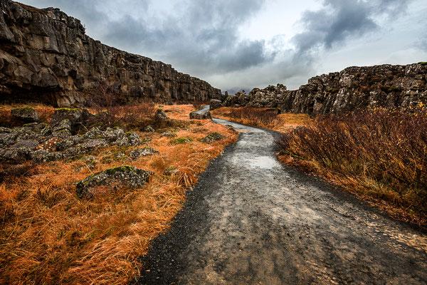 Island - Öxarárfoss - 2019