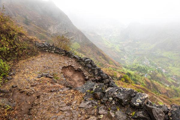 Diesmal sind es 1300 m abstieg. Und ja zwischendurch wurde es auch mal steil.