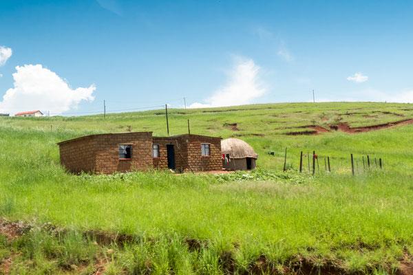 Busfoto - Auf dem Weg in die Drakensberge -P3010949