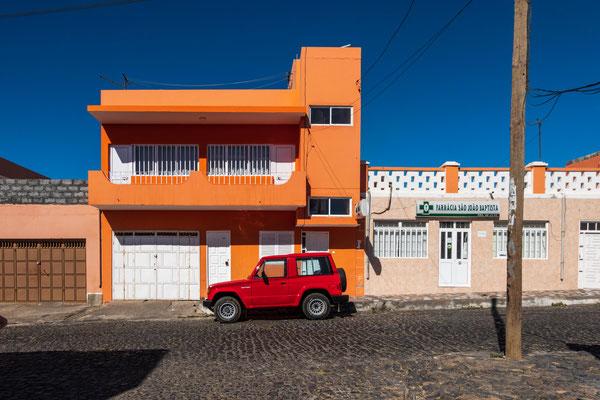 Was ist wohl die Lieblingsautofarbe auf den Cap Verden?