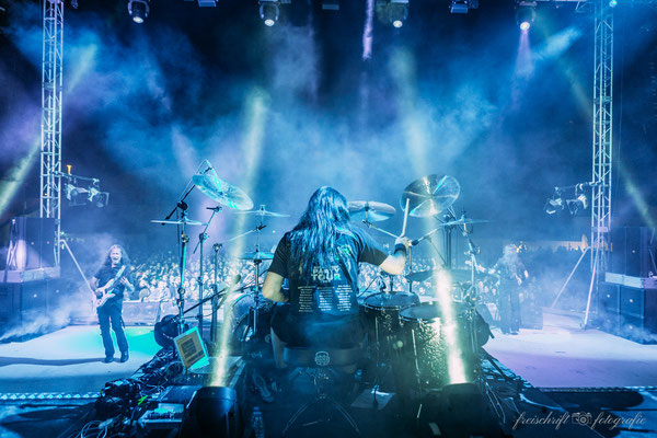Eventfotografie - Konzertfotos - Michael Ehre von Gamma Ray beim Z!Live-Festival