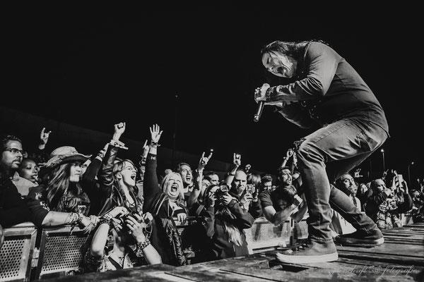 Eventfotografie -Konzertfotos - Frank Beck von Gamma Ray beim Z!Live-Festival