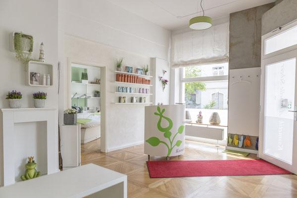 Businessfotografie Darmstadt - Werbefotograf - Businessfotos - Kosmetikstudio Raumansicht