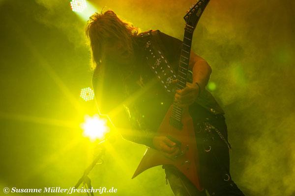 Eventfotografie - Konzertfotos - Kai Hansen von Gamma Ray beim SwedenRock