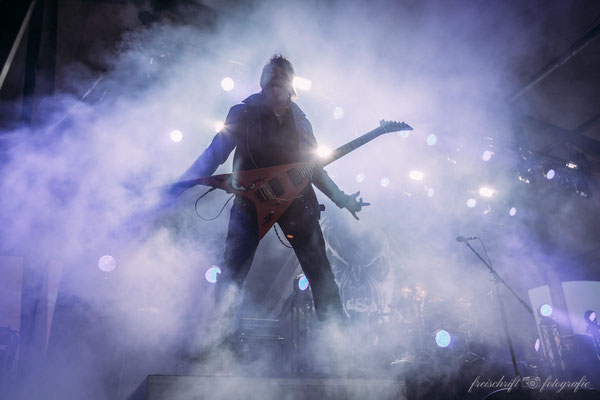Eventfotografie - Eventfotos - Fotograf Neu-Isenburg - Kai Hansen von Gamma Ray beim RockHard-Festival
