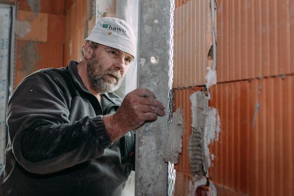 Businessfotos im Odenwald - Fotografie für Unternehmen - Handwerker bei der Arbeit