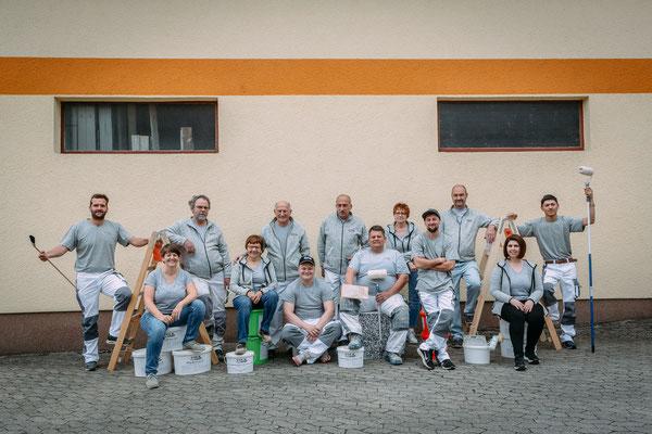 Werbefotografie - Fotos für Firmen - Gruppenfoto Mitarbeiter